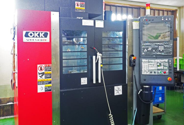 立形マシンニングセンタ OKK VM43R