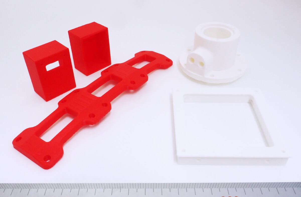 3Dプリンターで作成したサンプル